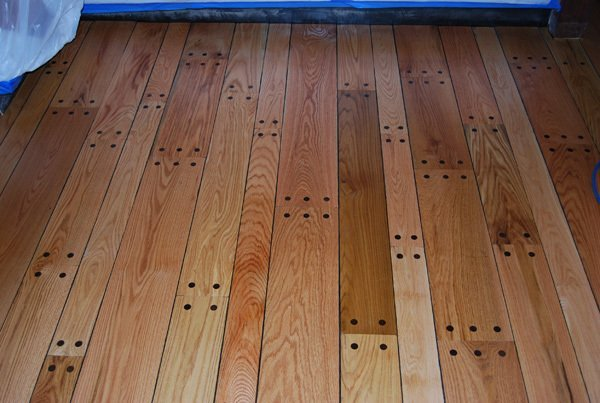 4 , 6 & 8 '' Pegged Red Oak 2 Wood Floor Installation Manchester & Concord, NH