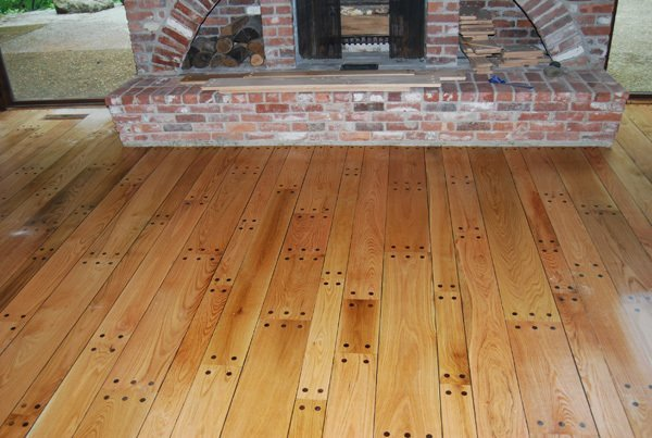4, 6 & 8 '' Pegged Red Oak Wood Floor Installation Manchester & Concord, NH