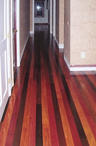 Brazilian Cherry, Walnut, Santos Mahogany Wood Floor Installation Manchester & Concord, NH