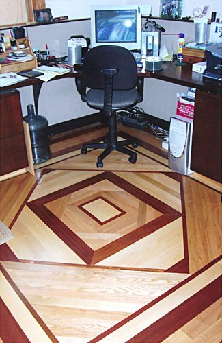 Custom Inlays Wood Floor Installation Manchester & Concord, NH