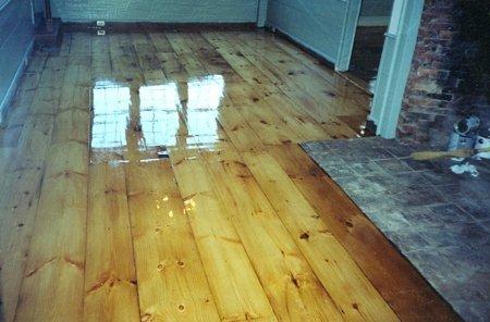 Pumpkin Pine Hardwood Floors Manchester & Concord, NH