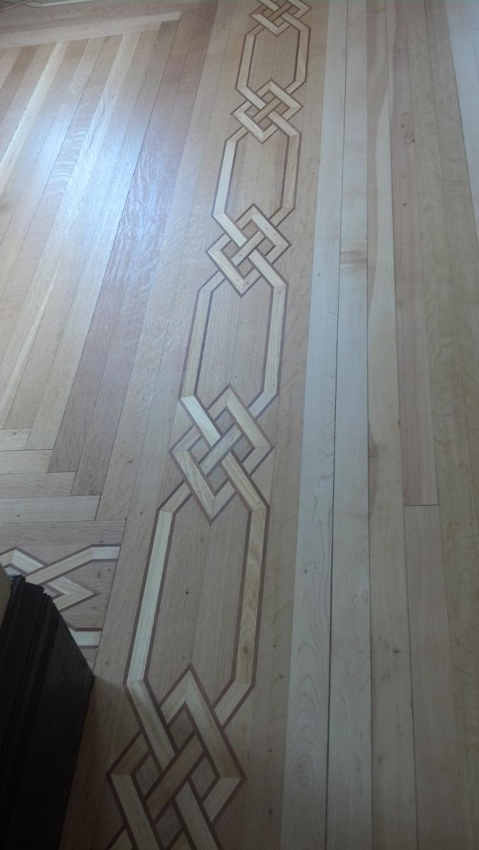 Custom Borders Wood Floor Installation Manchester & Concord, NH