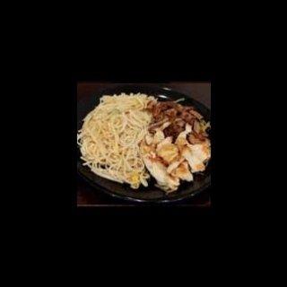 noodle con manzo e pollo