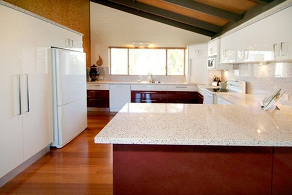 modern kitchen after renovation