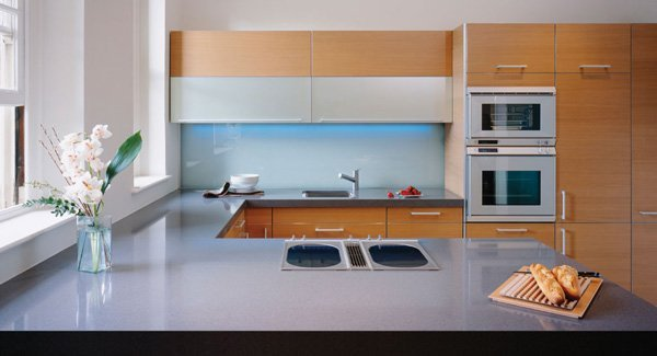 granite countertop in kitchen