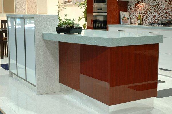 granite kitchen counter