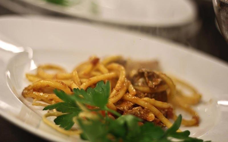 spaghetti ragù