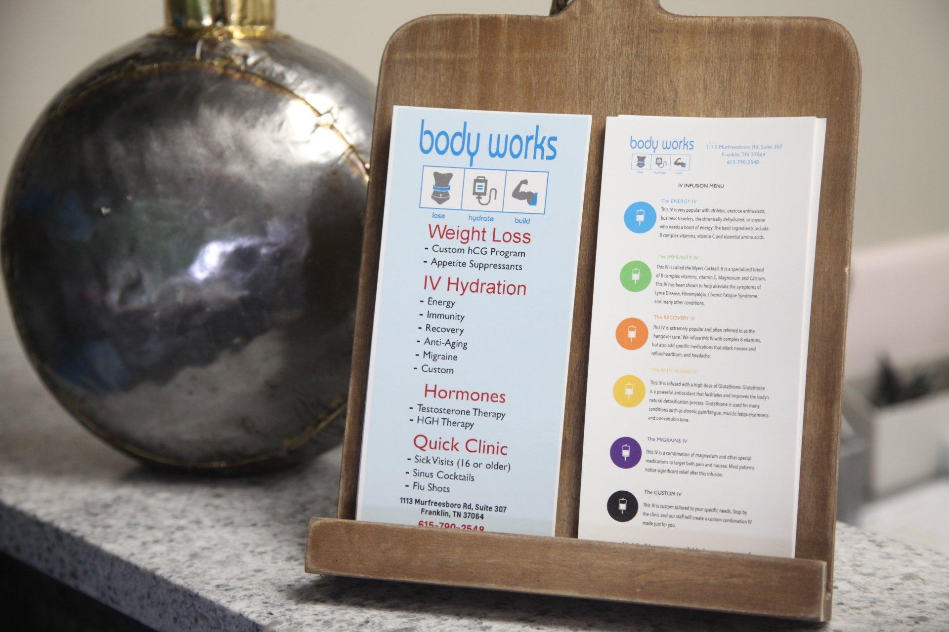 Franklin Health Wellness Center Weight Loss Clinic Body Works