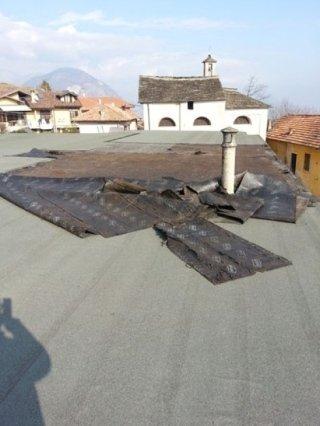 Manutenzione tetti edili