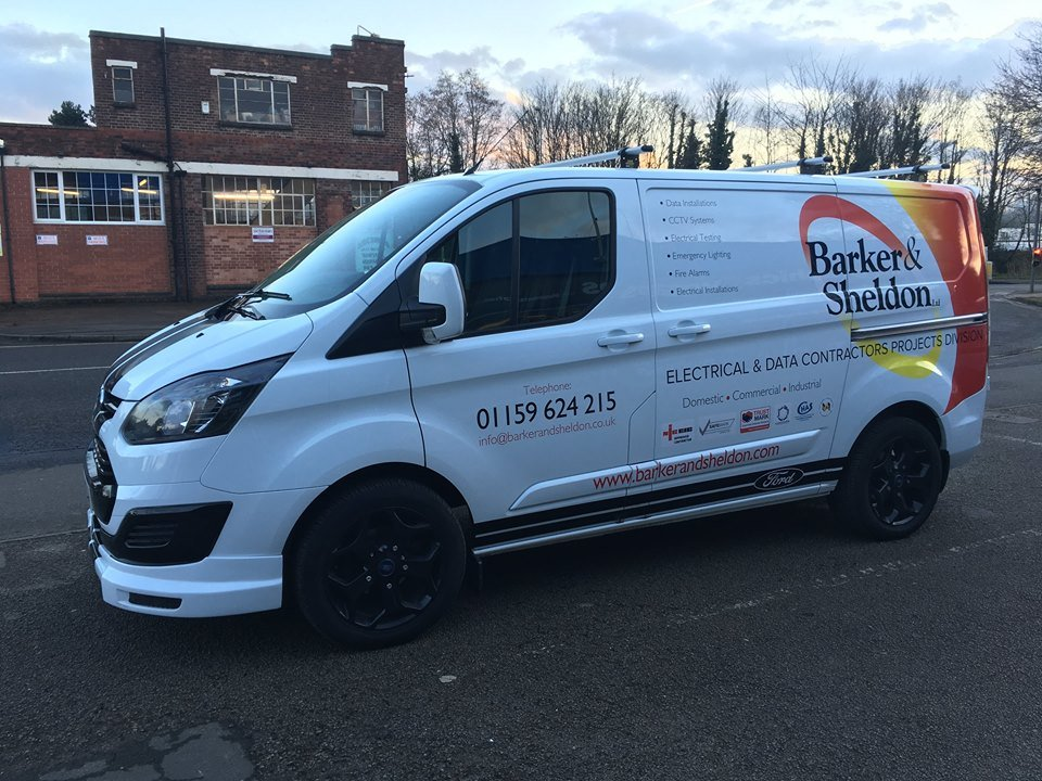 Barker & Sheldon Ltd company van