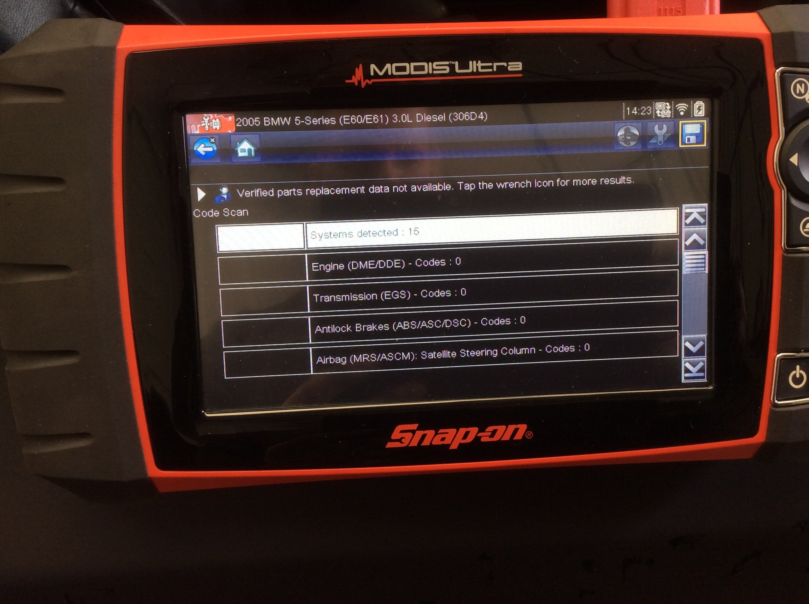 Car diagnostic testing