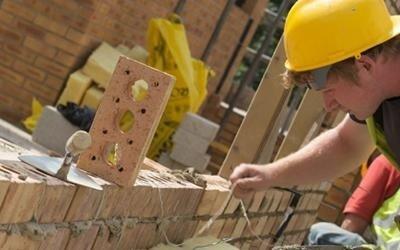Posa mattoni nuove costruzioni