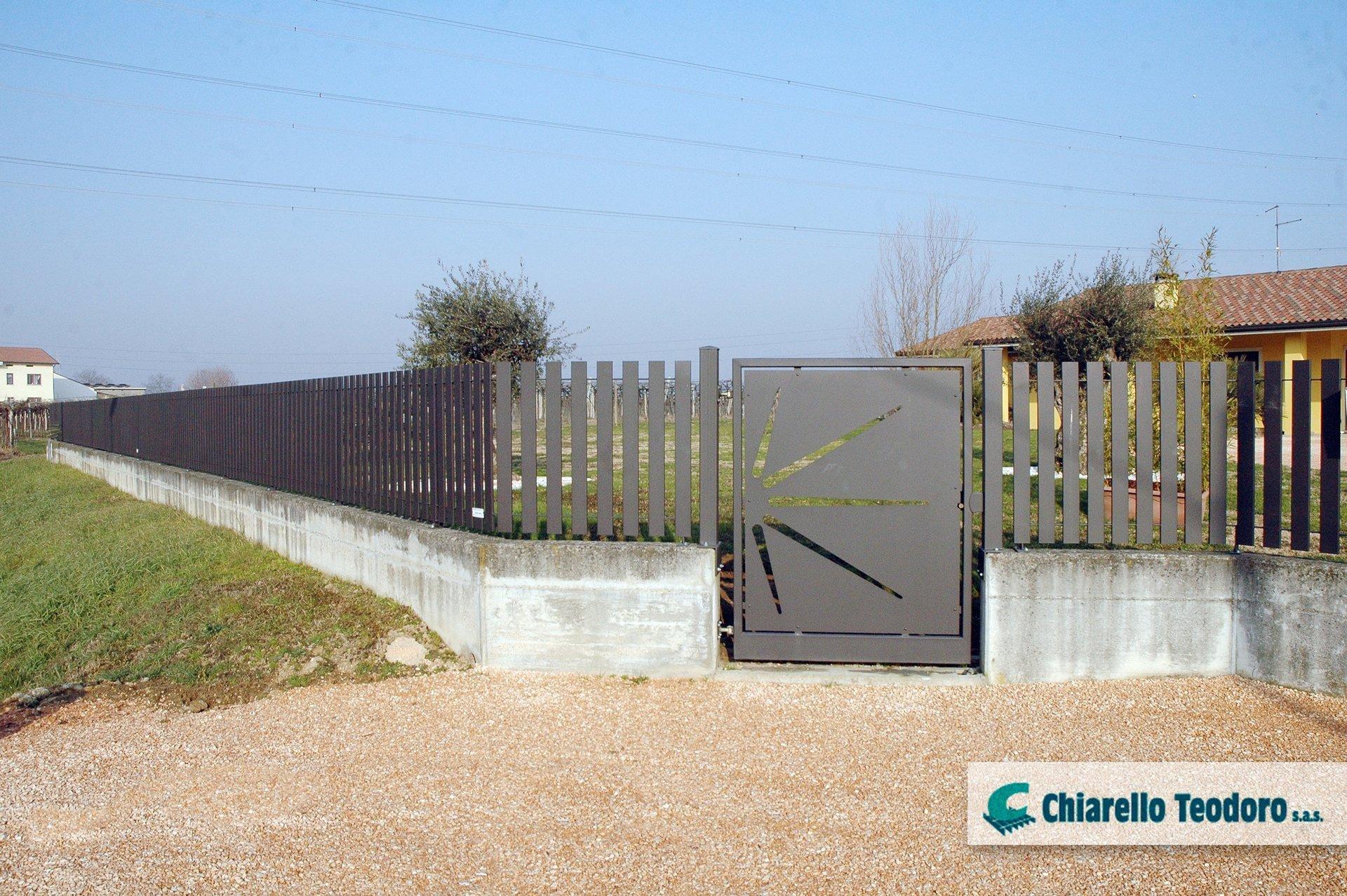 cancello pedonale nettuno