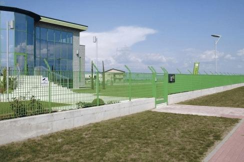 recinzione industriale di sicurezza