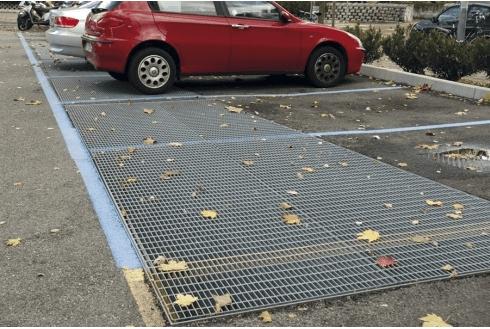 grigliati per parcheggi