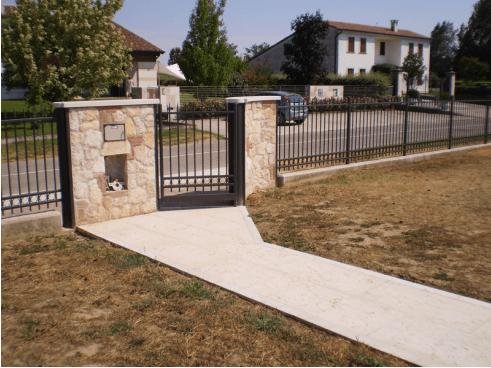 cancello pedonale achille