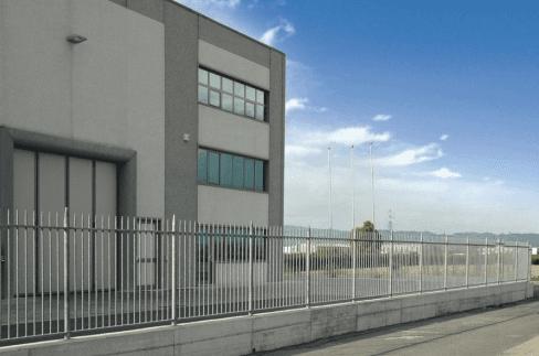recinzione industriale conica
