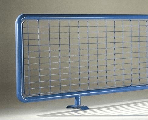 dettaglio recinzione danubio blu