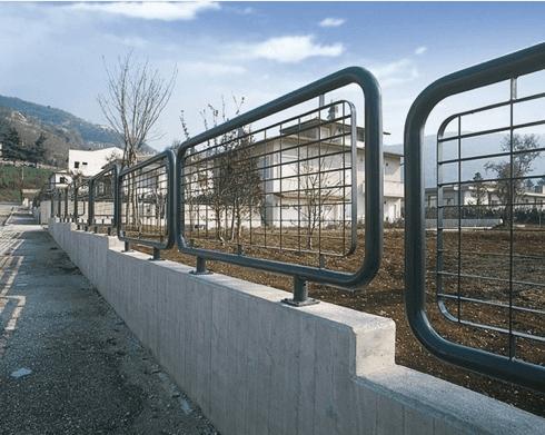 dettaglio recinzione danubio