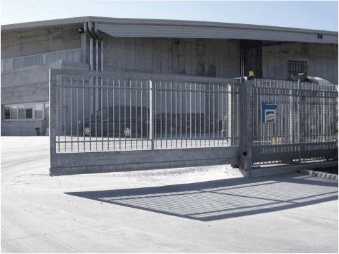 cancello scorrevole a sbalzo