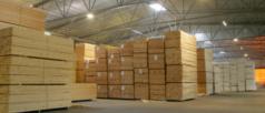 Distribuzione legname da costruzione