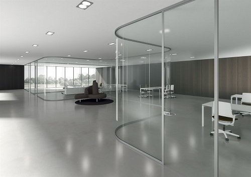 ambiente aperto d'ufficio