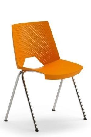 sedia arancione