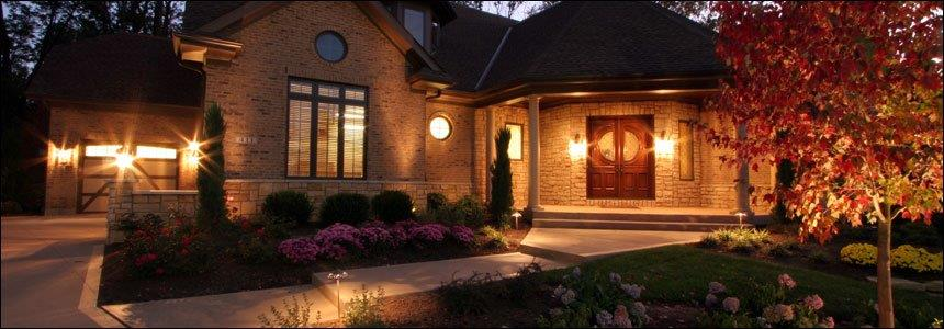 A beautifully lit home