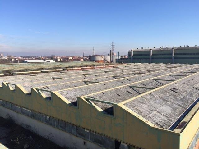 Rimozione coperture industriali in amianto