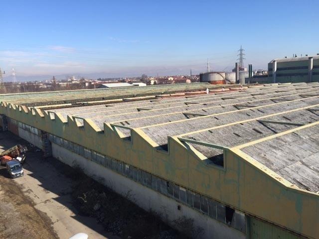 Bonifica coperture industriali in amianto