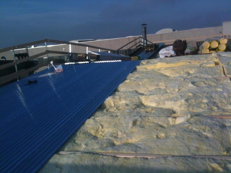 Sostituzione copertura amianto con lana di roccia