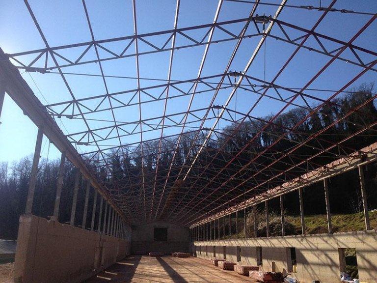 Copertura e rimozione amianto Azienda Agricola La Spighetta