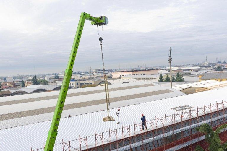 Posa nuovo tetto capannone