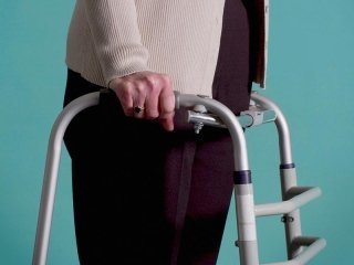girello per anziani