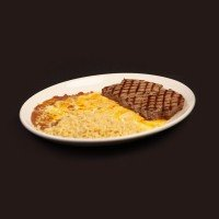 Top Sirloin and Cheese Enchilada
