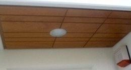 luce sul soffitto