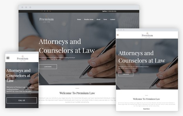 Boutique Law Firm - View real time demo!