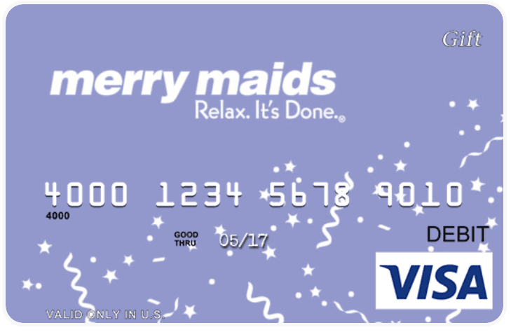 merry maids gift cards