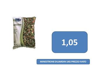 minestrone surgelato a 1,05 €