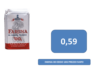 farina a 0,59 €