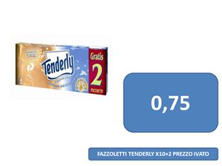 carta tenderly a 0,75 €