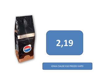caffè a 2,19 €