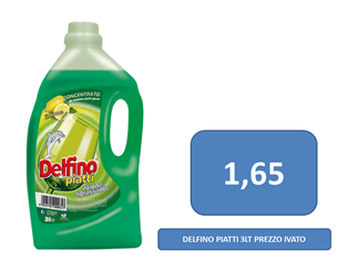 detersivo a 1,65 €