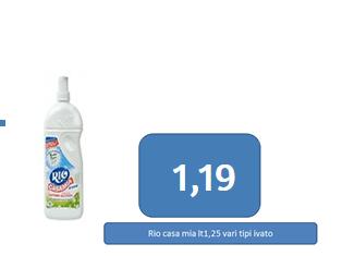 rio casa mia a 1,19 €