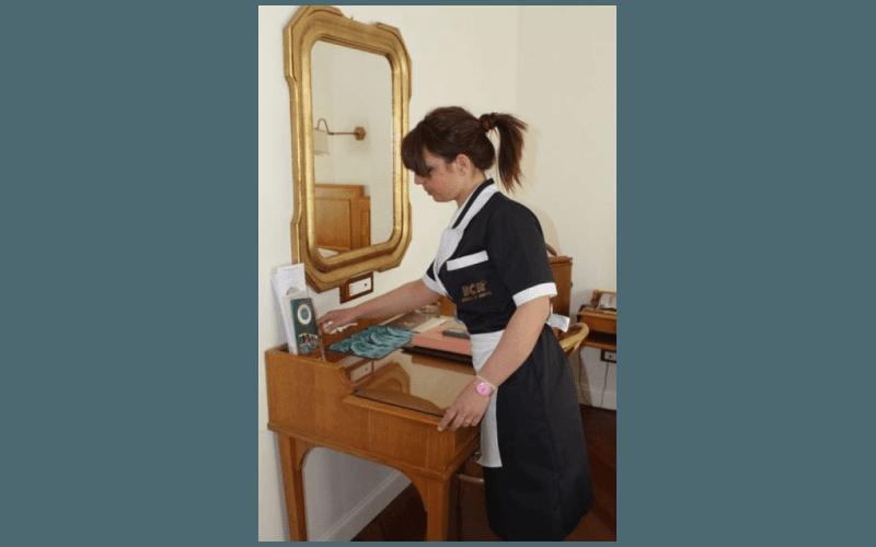 servizi di pulizia per hotel e alberghi