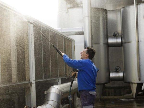 pulizia impianti industriali