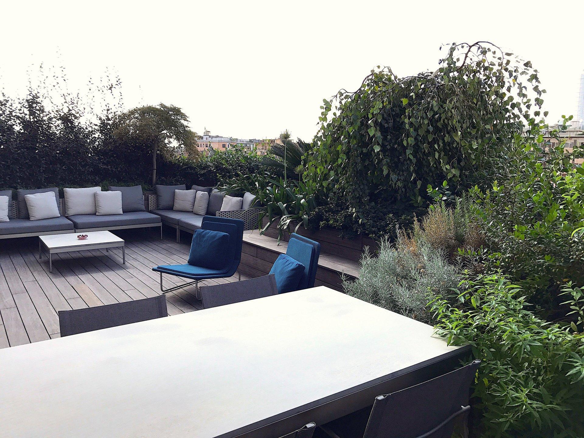 Progettazione giardini milano la terrazza for Progettazione giardini milano