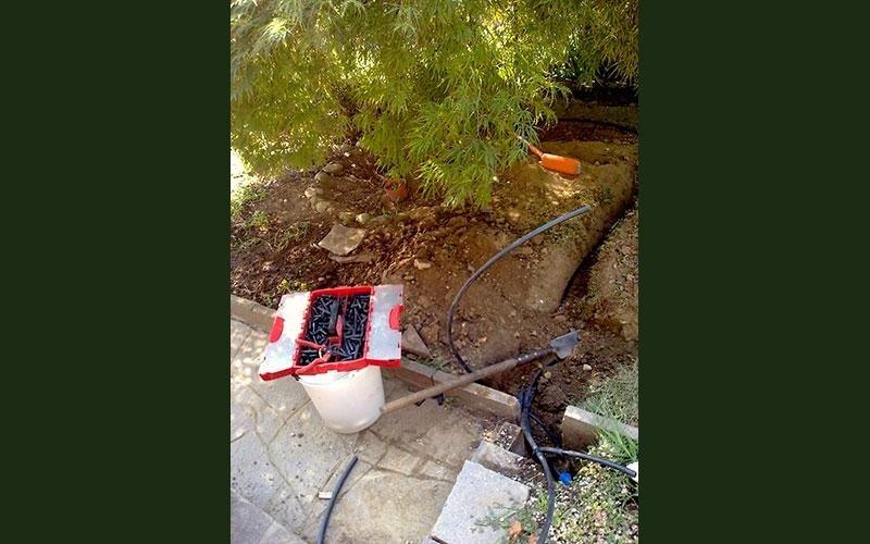 irrigazione per terrazzi