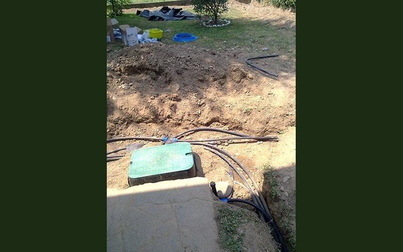irrigazione localizzata