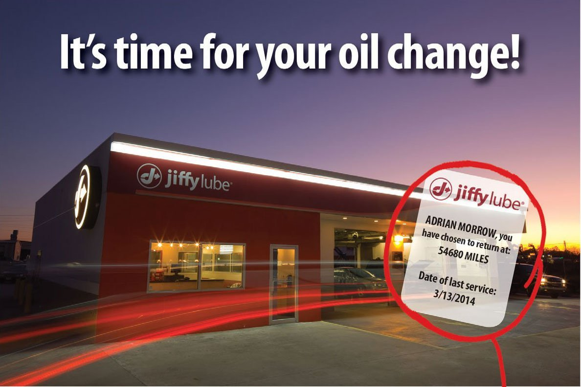 Jiffy Lube Database Marketing